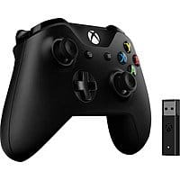 Microsoft Xbox controller with wireless adapter for $50 shipped.