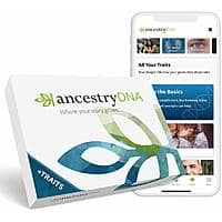 AncestryDNA: Genetic Ethnicity + Traits Test $49.99 @ Amazon W/ Free Shipping