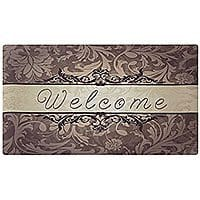 18x30 Rubber Doormat Indoor Washable Low Profile $  6.99 shipped with Amazon Prime