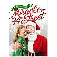 Miracle on 34th Street (1947) Movie in HD is $4.99 on iTunes