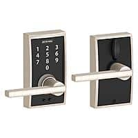 Door Hardware up to 42% off: Schlage Keyless Lock $  79, Kwikset Delta Lever $  9.96 & More + Free Shipping at Home Depot