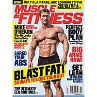 Muscle & Fitness Magazine $  4.99 per year