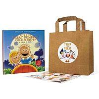 It's the Great Pumpkin Charlie Brown Book + Board Book w/ Stickers  $10 + Free Shipping