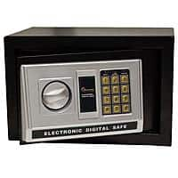 Magnum Electronic Security Safe (0.32 Cu Ft) for $  34.99, Magnum Wall Safe $  59, 3-Pack Airtight Metal Boxes $  39.99, Auto Emergency Hammer $  3.99 & More