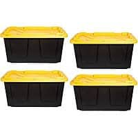 Greenmade Storage Tote, 27 Gallons 4 for $25 at Office Depot after coupon (Exp. 8/18) (order online in-store pickup)