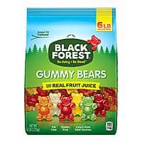 6-Pound Bag Black Forest Gummy Bears $8.82 w/ 5% S&S (or $7.90 w/ 15% S&S) at Amazon