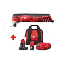 Milwaukee Tools: M12 12V Li-ion Cordless Oscillating Multi-Tool w/ 3.0Ah & 1.5Ah Batteries, Charger, Bag $94, 20-Piece Hole Dozer Bi-Metal Hole Saw Set $99 & More + Free S/H