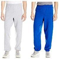 Hanes Men's EcoSmart Fleece Sweatpants $5.50
