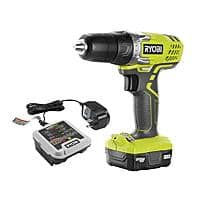 """RYOBI 12V Li-ion 3/8"""" Cordless Drill + Battery/Charger (Pre-owned) $21 + Free Shipping"""