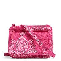 Vera Bradley Outlet Extra 40% Off: Coin Purse $3.60, Petite Crossbody $10.20 & More + Free S&H