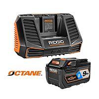 Ridgid Octane 9ah battery/charger kit - $99 w/LSA