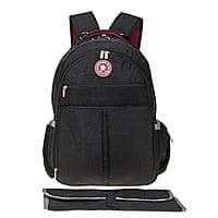 Multifunctional Baby Diaper Travel Diaper Bag with Changer Pad for $  15