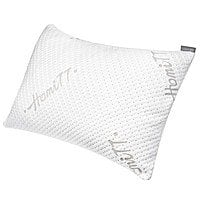 Queen Size Bamboo Shredded Memory Foam Pillow w/ Washable Bamboo Cover - $  18.99 AC at Amazon
