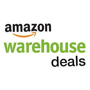 Amazon warehouse - 20% discount off select items