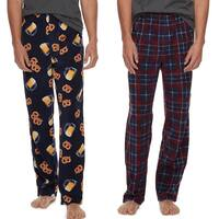 Kohl's Cardholders: 2-Pack Men's Microfleece Lounge Pants $5.90 + Free Shipping