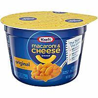 10-Pack of 2.05oz Kraft Easy Mac & Cheese Microwavable Cups (Original) $5.35 + Free Shipping