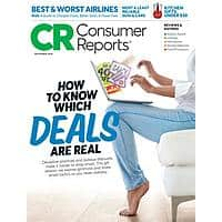 Consumer Reports $16.99/yr with option to renew for another year