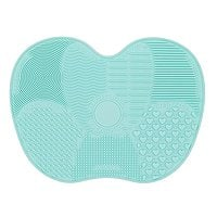 Silicon Makeup Brush Cleaning Mat Makeup Brush Cleaner, $  4.89