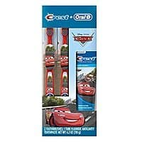 Amazon: Oral-b and crest kid's pack toothpaste, disney & pixar's cars only $  3!