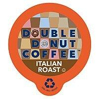 Double Donut French Roast Coffee,Keurig K-Cups 80 Count with 30% off $20