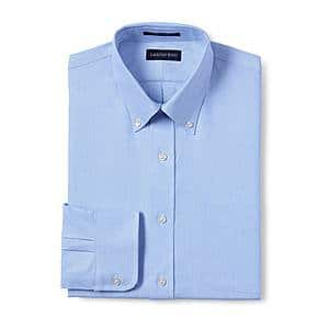 "Lands' End Hyde Park - 100% Supima Cotton Oxford Cloth Button Down Shirt (Their ""BEST"" shirt) - NOW $15!</body></html>"