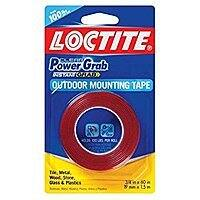 "3/4"" x 60"" Loctite Clear Power Grab Outdoor Mounting Tape for $1.50 with Prime Shipping (1-2mo Ship)"
