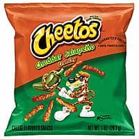 40ct 1oz Cheetos Crunchy Cheddar Jalapeno Flavored Cheese Snacks for $9.43AC + Free Prime Shipping