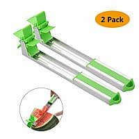 2-Pack Meethome Watermelon Slicer / Cuber (Green) $1