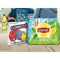 24-Pack of Lipton Iced Tea + Board Game (Clue or Connect Four) for $8.96