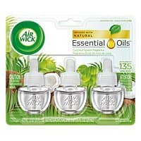 3-Pack Air Wick Scented Oil Coconut Splash Fragrance Refills $1.43 w/ S&S