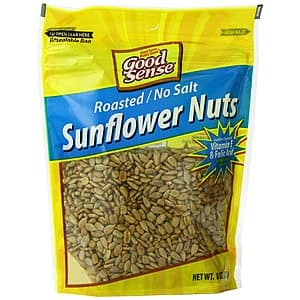 12-Pack 8-Ounce Good Sense Roasted No Salt Sunflower Seed Kernels $6.87 w/ Subscribe & Save