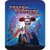 Transformers: The Movie (Limited Edition 30th Anniversary Steelbook) [Blu-ray/Digital] $8.56 FSSS or FS with prime at Amazon