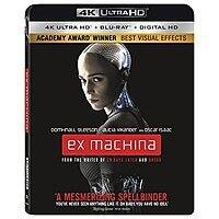 Ex Machina (4K UHD + Blu-ray + Digital HD) + $5 Target Gift Card $10 + Free S&H on $35+