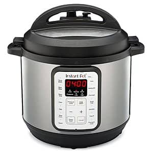 6-Quart Instant Pot Viva 9-In-1 Multi Programmable Pressure Cooker (Black Stainless Steel) $49 + Free Shipping
