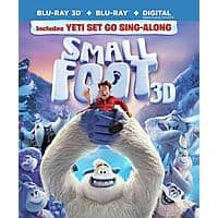 FYE 31.4% off, 3D Blu-rays: Smallfoot, Fantastic Beasts The Crimes of Grindelwald $19.75 Each w/ $50+ Purchase & More + Free S&H