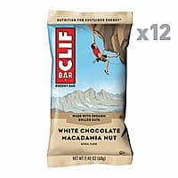 12-Count 2.4oz Clif Bar Energy Bar (White Chocolate Macadamia Nut) $2.54 w/ S&S + Free S/H