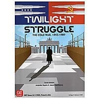 Twilight Struggle Board Game  - $  33.36 - Amazon