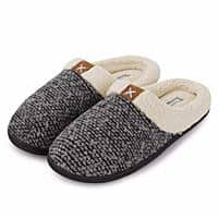 Fantiny Men's Memory Foam Slippers Slip-on Clog Scuff House Shoes Indoor & Outdoor  $8.99