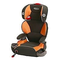 Graco Affix Highback Booster Car Seat with Latch System, Tangerine $  43 on Amazon $  42.74