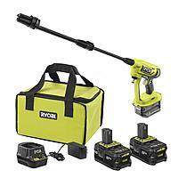 Ryobi 18-Volt ONE+ High Capacity 4.0 Ah Battery (2-Pack) Starter Kit with Charger and Bag w/FREE ONE+ Cold Water Power Cleaner $99
