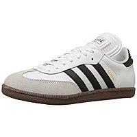 adidas Performance Men's Samba Classic Indoor Soccer Shoe White $34.99