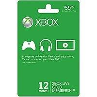***Starts 11/23/17 @ 4PM PST*** 2-Pack Xbox LIVE 12 Month Gold Membership Card for Xbox One / 360 Physical Card for $  76.80 + Free Shipping