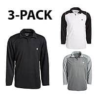 [3-PACK] Champion 1/4 Zip Performance Pullover Jacket for $27.99 + Free Shipping
