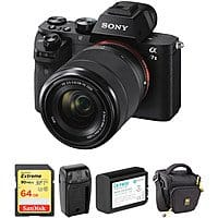 Sony Alpha a7 II Mirrorless Digital Camera with 28-70mm Lens and Accessory Kit $998.00 + FS