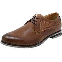 Alpine Swiss Double Diamond Men's Saffiano Leather Oxfords (various colors) $20 + Free Shipping