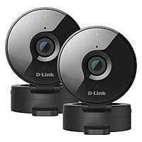 2-Pack D-Link Wireless-N 720P Indoor Surveillance Cameras (Refurb) $30 + Free S&H (Facebook Required)