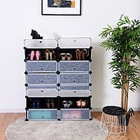 Costway 12 Cubes Portable Shoe Rack - $38.95 + Free Shipping