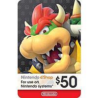 Nintendo $50 eShop Digital Code - $41.95