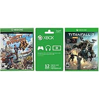 Microsoft Xbox Live 12 Month Gold Membership Card + Sunset Overdrive + Titanfall 2 w/ Nitro DLC Games - $47.98 + Free Shipping
