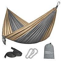 Forbidden Road Camping Hammock w/ Ropes (Select Colors) $7.90